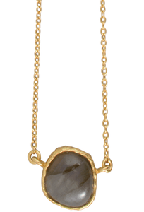 Christina Greene Labradorite Delicate Necklace - Thumbnail