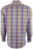 Robert Graham Nasir Purple Shirt - Back