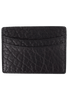 Bison Sport Clip Card Case - Black - Front