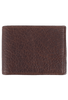 Bison Slim Fold Wallet - Brown - Front