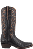 Benchmark by Old Gringo Men's Black Burnished Caiman Belly Boots - Side