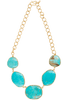 Christina Greene Turquoise Statement Necklace