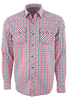 James Campbell Cedar Plaid Snap Shirt - Front