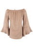 Union of Angels Shayla Peasant Top - Back
