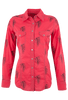 Barn Fly Headdress Snap Shirt - Front