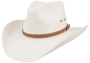 Stetson 8X Baytown Straw Hat - Side