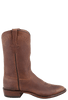 Rios of Mercedes Men's Chocolate Warthog Hybrid Roper Boots - Side