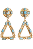 Christina Greene Navajo Chandelier Earrings - Front