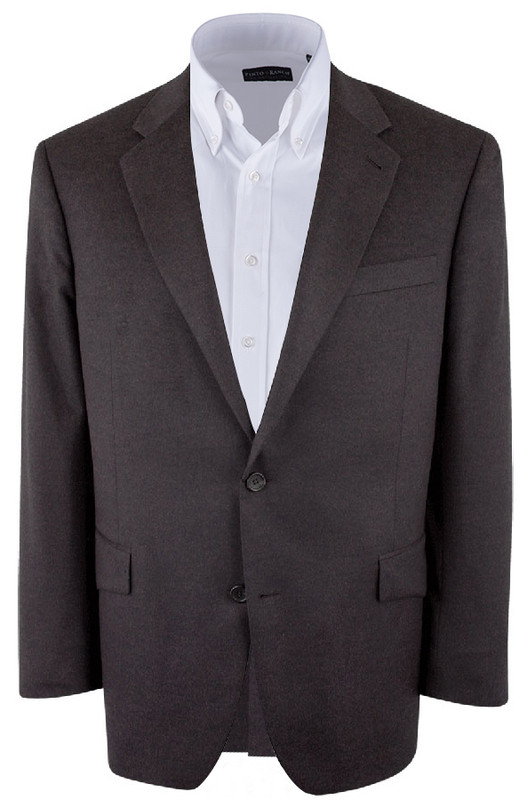 Brown Silk/Cashmere Sergio Sport Coat - Front