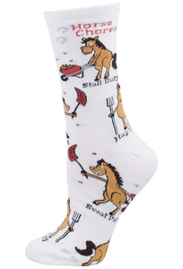 FBF Originals Horse Chores Socks