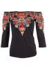 Vintage Collection Bryce Knit Top - Front Alternative