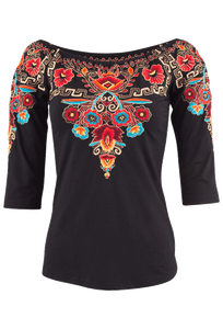 Vintage Collection Bryce Knit Top - Front
