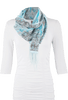 Tasha Polizzi Bandana Scarf - Light Blue