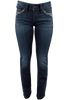 Silver Jeans Suki Mid-Rise Slim Bootcut Jeans - Front