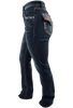 Grace in L.A. Easy Fit Diamond Flap Pocket Bootcut Jeans - Side