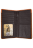 Lone Star Checkbook Wallet - Brown - Inside