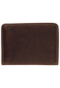 Gaucho Bifold Wallet - Brown and Black - Back