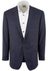 Blue Plaid Sergio Sport Coat - Front