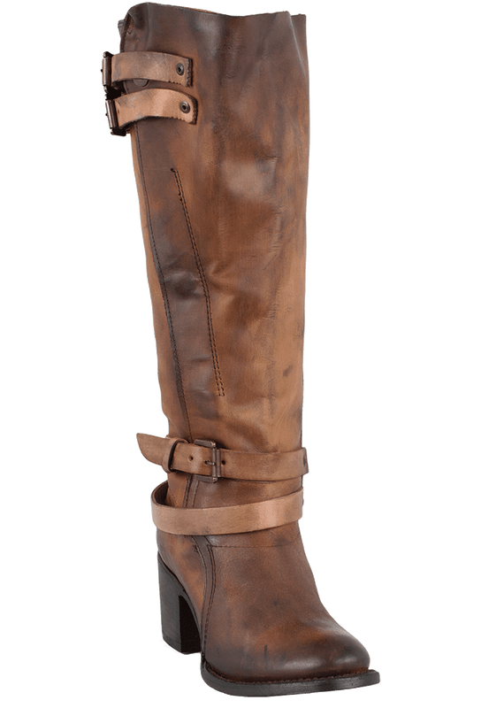 Freebird by Steven Women's Cognac Clive Boots - Hero