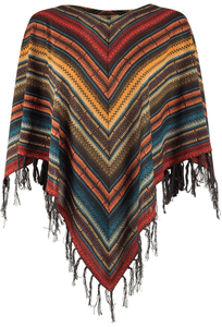 Double D Ranch Les Gauchos Poncho Top - Top