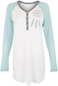 Pajamas - Navajo Wanderer Night Shirt - Front