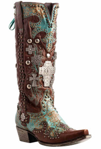 Double D Ranch by Lane Ammunition Boots - Hero