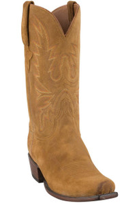 Lucchese Men's Sand Burnished Wax Cowhide Boots - Hero