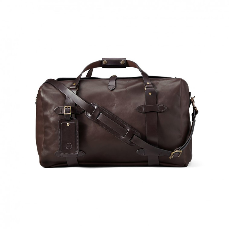 Filson Weatherproof Leather Medium Duffle