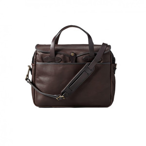Filson Weatherproof Leather Original Briefcas - Front