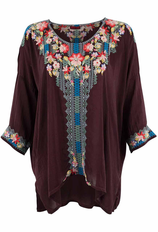Johnny Was Rosa Blouse - Front