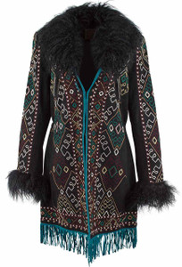 Double D Ranch Cordero Rizado Jacket - Front