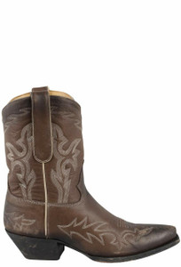 Liberty Boot Co. Women's Brown Santa Fe Nueva Dos Boots - Side