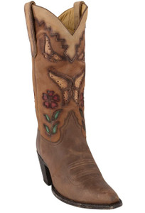 Liberty Boot Co. Women's Shawna Distressed Boots - Hero