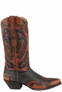 Liberty Boot Co. Women's Suzie Q Back in Black Boots - Side