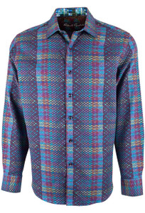 Robert Graham Albert Finney Multi Panel Plaid Sport Shirt - Front