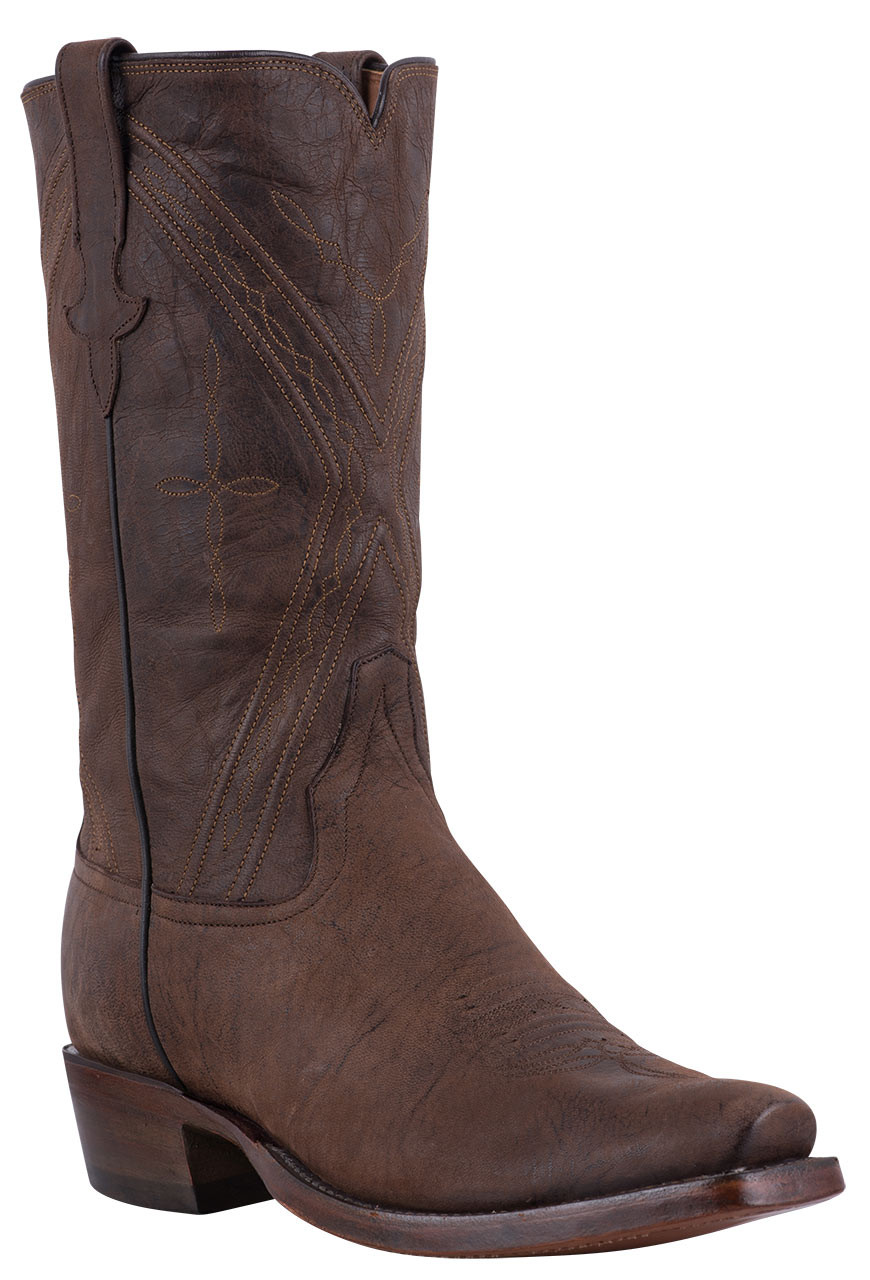 RIOS OF MERCEDES MEN'S CHOCOLATE MAD CAT GOAT BOOTS