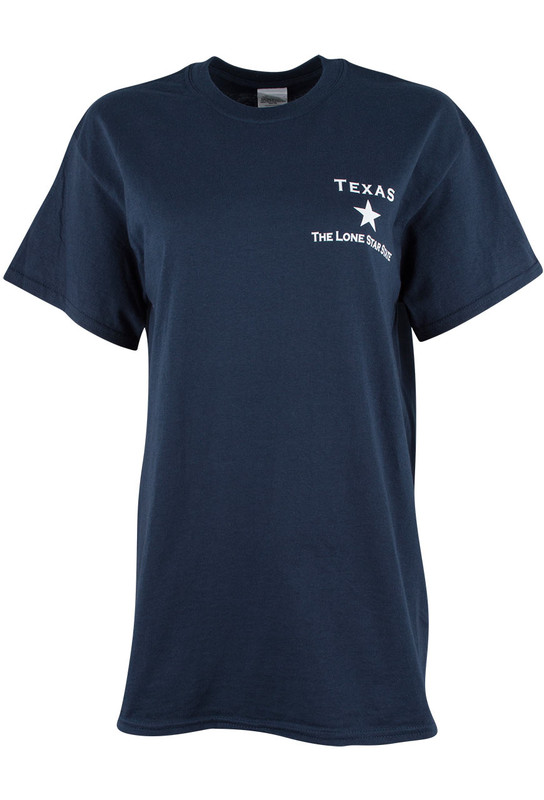 Gift - You May All Go Tee - Navy Blue - Front