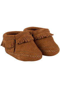 Minnetonka Riley Brown Bootie