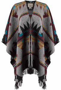Cripple Creek Southwest Poncho - Front