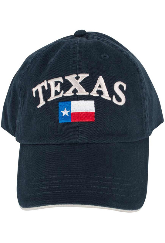 Gift - Texas Flag Cap - Navy Blue