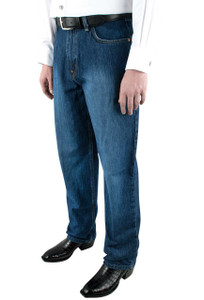 Cinch Black Label Slim Fit Dark Stonewash Jeans