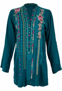 Johnny Was Joulette Tunic - Front
