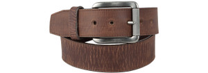 Bent Rail Bomber Belt - Brown