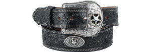 5 Star Ranch Belt - Black