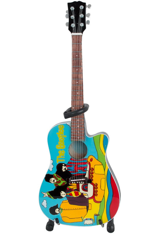 Gift - The Beatles Yellow Submarine Mini Guitar