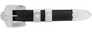 """Pinto Ranch Presidential Stars 1"""" Buckle Set"""