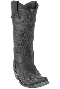 Old Gringo Women's Black Dolce Stitch Boots - Hero