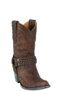 "Old Gringo Women's Brass Cowgirl 10"" Boots - Hero"