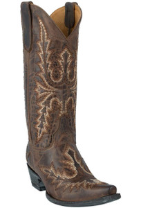 Old Gringo Women's Rust Sharon Heavy Stitching Boots - Hero