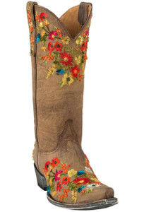 Old Gringo Women's Brass Flora Boots - Hero